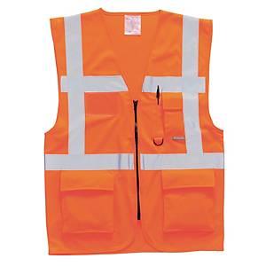 Portwest S476 hi-viz gilet Executive oranje - maat XL