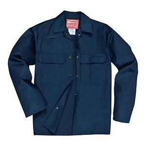 Bluza spawalnicza PORTWEST Bizweld BIZ2, granatowa, rozmiar XL