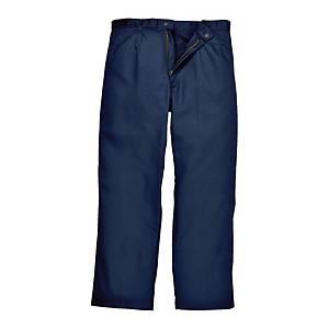 Spodnie spawalnicze PORTWEST Bizweld BZ30, granatowe, rozmiar L