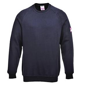 PORTWEST FR12 SWEATER FR/AS NAVY XS