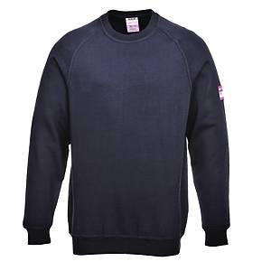 Sweat-shirt Portwest FR12, bleu marine, taille L, la pièce