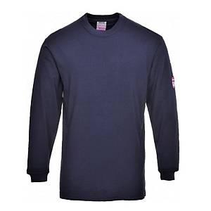 Camiseta manga larga Portwest FR11 azul marino - talla M
