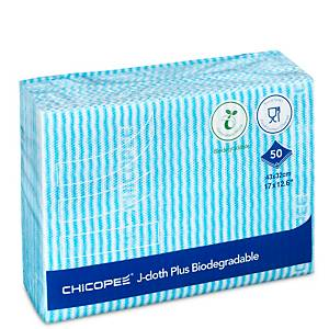 Chicopee J-Cloth 3000 Blue - Pack of 50