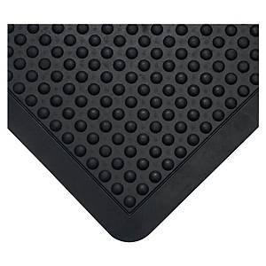 Tapis de sol anti-fatigue Coba Bubblemat - 60 x 90 cm - noir