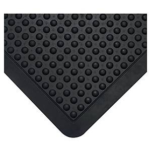 Tapis de sol anti-fatigue Coba Bubblemat - 90 x 120 cm - noir