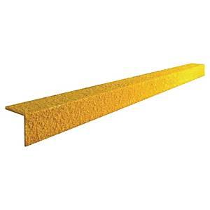 Nez de marche Coba Cobagrip - antidérapant - 1 m x 5,5 cm - jaune
