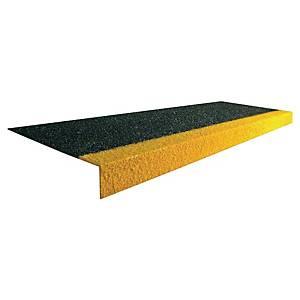 Couvre-marches Coba Cobagrip - antidérapant - 1 m x 3,45 cm - noir/jaune