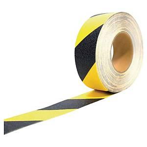 Bande antidérapante Coba Gripfoot - auto-adhésive - 50 mm x 18,3 m - noir/jaune