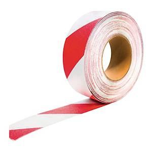 Bande antidérapante Coba Gripfoot - auto-adhésive - 50 mm x 18,3 m - rouge/blanc