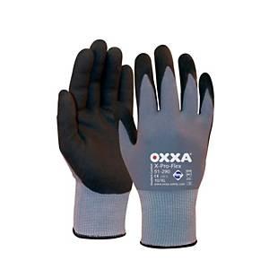 Gants Oxxa 51-290 polyvalents, enduction nitrile, taille 9, paquet de 12 paires