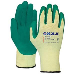Oxxa X-Grip 51-000 antislip handschoenen, latex gecoat, maat 11, pak van 12 paar