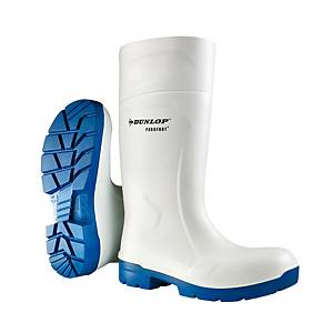 Bota de agua Dunlop Purofort Foodpro S4 - blanco - talla 36