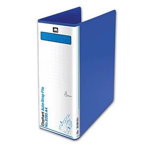 ตราช้าง แฟ้มคลิปสปริง 8280 A4 สัน 80 มม. สีน้ำเงิน