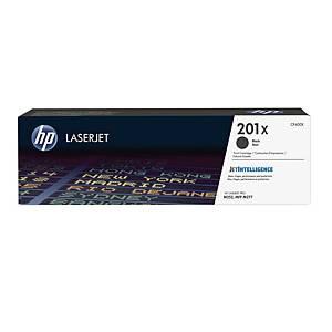 Lasertoner HP 201X CF400X, 2.800 sider, sort