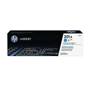HP CF401A LaserJet Toner Cartridge (201A) - Cyan