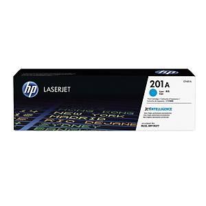 HP laserový toner 201A (CF401A) cyan