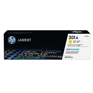 HP 201A (CF402A) toner cartridge, geel