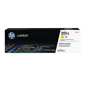 Lasertoner HP 201X CF402X, 2.300 sider, gul