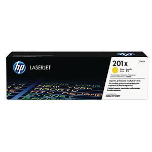 HP 201X High Yield Yellow Original Laserjet Toner Cartridge (CF402X)