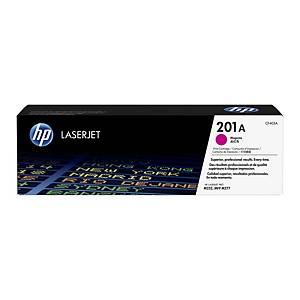 HP CF403A LaserJet Toner Cartridge (201A) - Magenta