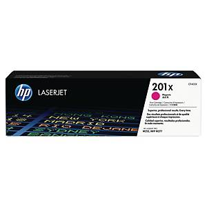 HP 201X High Yield Magenta Original Laserjet Toner Cartridge (CF403X)