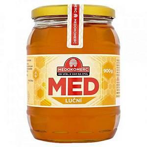 Květový med ve skleněné dóze 900 g