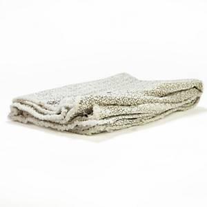 Hadr tkaný, vaflový, na podlahu, 50 x 60 cm, bílý