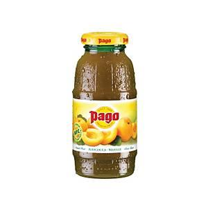 Pago Marillensaft, Einwegglasflasche, 0,2l, 24 Stück