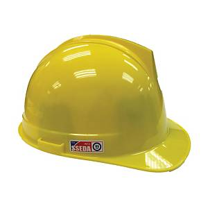 SSEDA หมวกนิรภัยรองในไนล่อน ปรับเลื่อน เหลือง