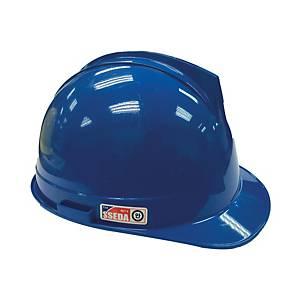 SSEDA หมวกนิรภัยรองในไนล่อน ปรับเลื่อน น้ำเงิน