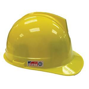 SSEDA หมวกนิรภัยรองในไนล่อน ปรับหมุน เหลือง