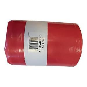 Worki na odpady medyczne 35 l, czerwone, 50 sztuk