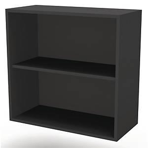 JIVE BOOKCASE 2 R 801X780X420MM BLACK