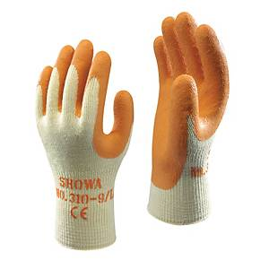 Showa 310 Cut Glove  Orange/Yellow Size 9 (Pair)
