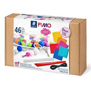 Staedtler Fimo Soft paquet de classe 11 couleurs - 26 x 56 g