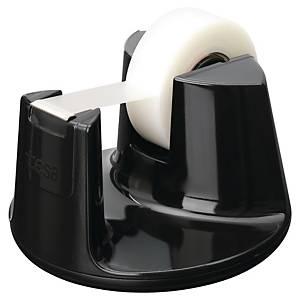 Borddispenser Tesa Easy Cut Compact til tape, sort + 1 rulle tape