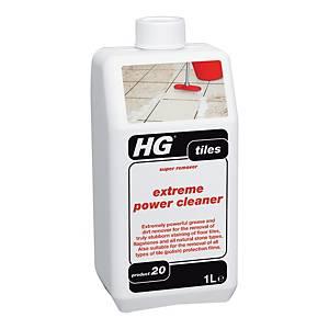 HG น้ำยาขจัดคราบฝุ่นฝังแน่นสำหรับพื้นกระเบื้องและปูน สูตรเข้มข้น 1000 มิลลิลิตร