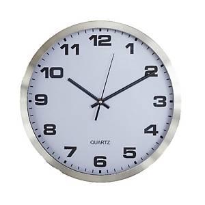 นาฬิกาแขวนผนัง 3490 12 นิ้ว สีขาว