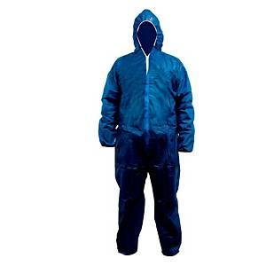 2.66.110.06 polypropyleen wegwerp overall blauw XL - pak van 50