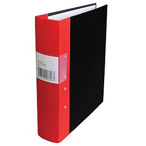 Pärm A4, 60 mm, röd