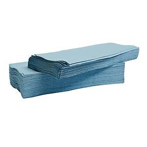 LYRECO BLUE 1 PLY V-FOLD HAND TOWELS - PACK OF 3600