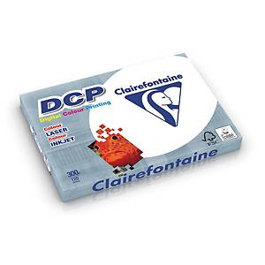 DCP Clairefontaine Papier, A4, 300g/m², weiß, 125 Blatt/Packung
