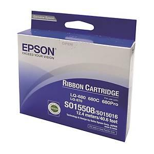 Epson S015508LQ670/680/2500 Ribbon - Black