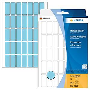 /BX1120 HERMA 2353 HAFTETIK.12X30 BLAU