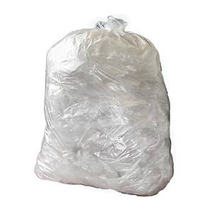CHSA Clear 15 X 24 X 24 Square Bin Bag - Pack of 5 Rolls of 100
