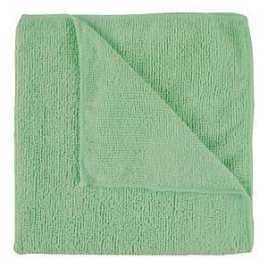Green Exel Microfibre Supercloth - Pack of 10