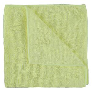 Yellow Exel Microfibre Supercloth - Pack of 10