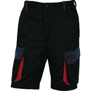 Shorts Deltaplus D-Mach, sort/rød, str. M