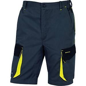 Shorts Deltaplus D-Mach, grå/gul, str. XXL
