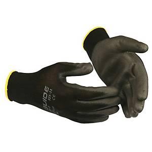 Handsker Skydda Guide 525, PU belægning, str. 7, pakke a 12 par